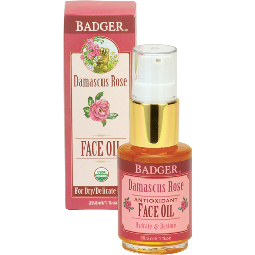 BADGER® Damascus Rose Face Oil