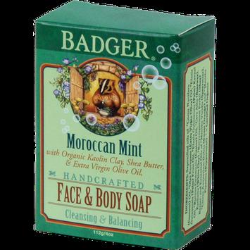 Badger Balm Face & Body Soap - Moroccan Mint