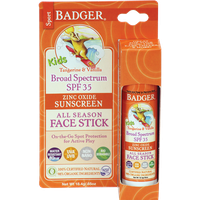 Badger Balm Kids Sport Sunscreen Stick SPF 35