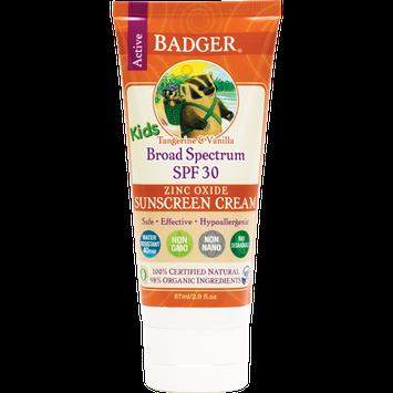 BADGER® Kids Sunscreen Cream SPF 30