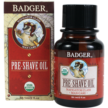 BADGER® Organic Pre-Shave Oil