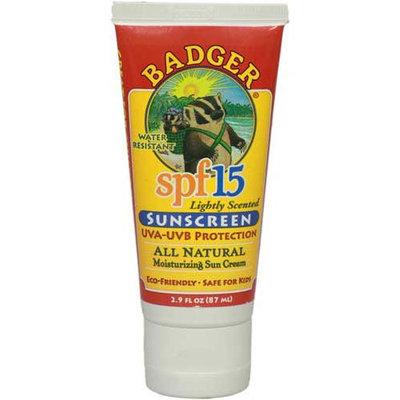 Badger Balm SPF 15 Lightly Scented Sunscreen - Lavender Scent