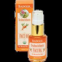 BADGER® Seabuckthorn Face Oil - For Normal/Dry Skin