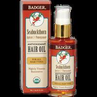 Badger Balm Seabuckthorn Hair Oil