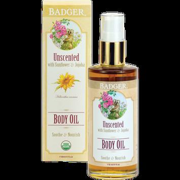 BADGER® Unscented Body Oil