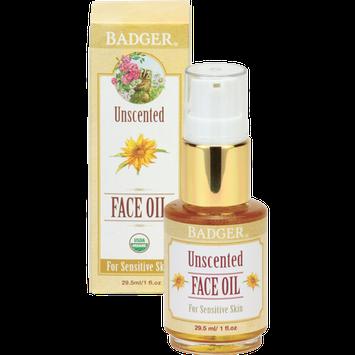 BADGER® Unscented Face Oil
