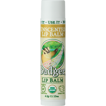 Badger Balm Unscented Lip Balm - Classic