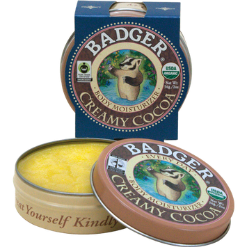 Badger Balm Creamy Cocoa Butter - Every Day Body Moisturizer