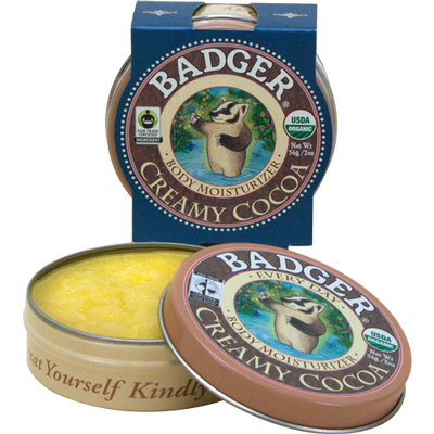 BADGER® Creamy Cocoa Butter - Every Day Body Moisturizer