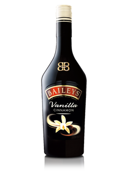 Baileys Irish Cream Liqueur With Vanilla Cinnamon