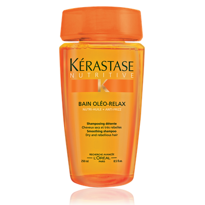 Kerastase Nutritive Bain Ol o-Relax Shampoo For Dry, Rebellious Hair