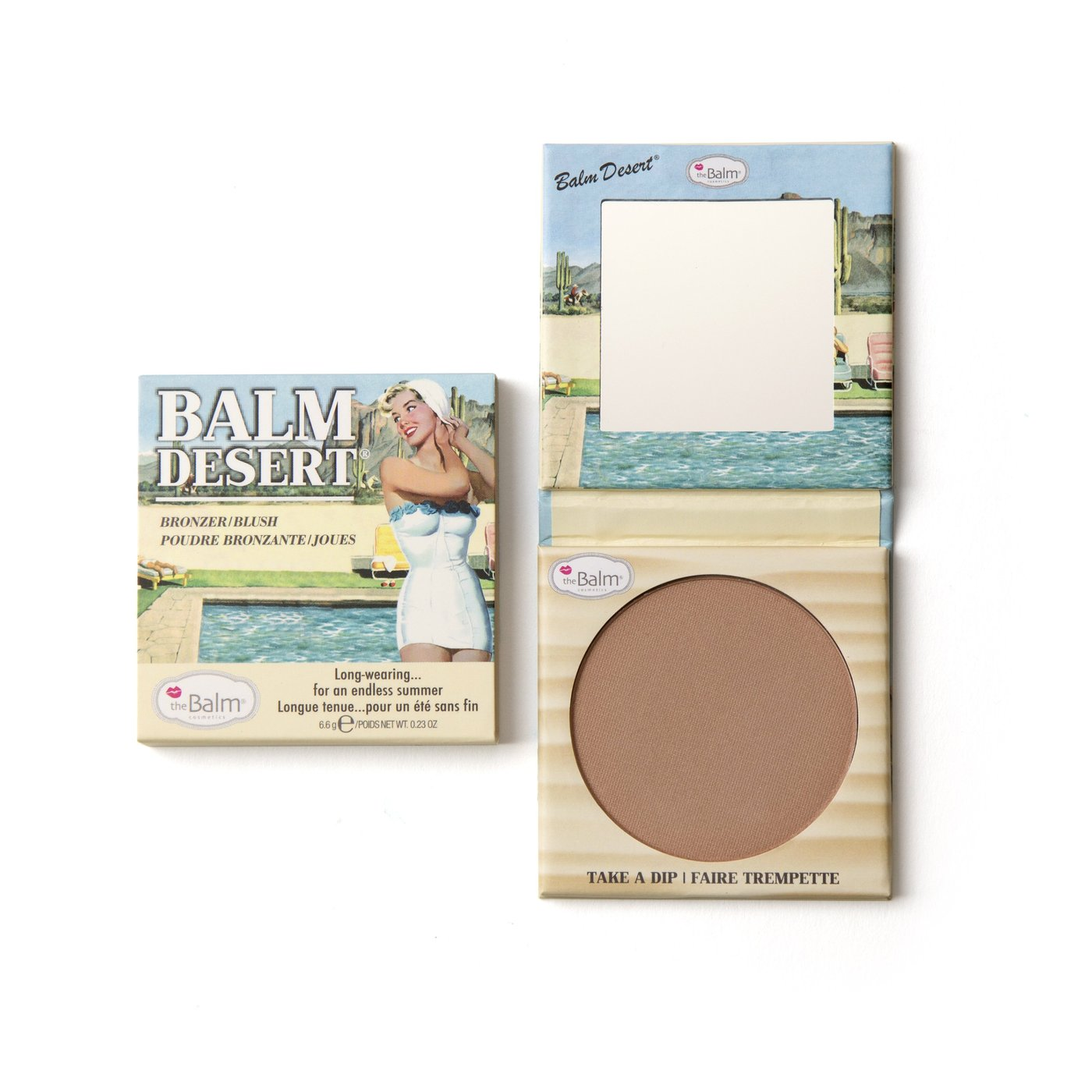 the Balm® BALM DESERT® Bronzer/Blush
