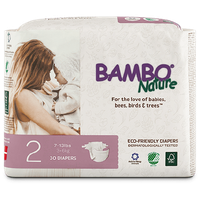 Bambo Nature Eco-Friendly Diapers Size 2