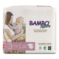 Bambo Nature Eco-Friendly Diapers Size 3