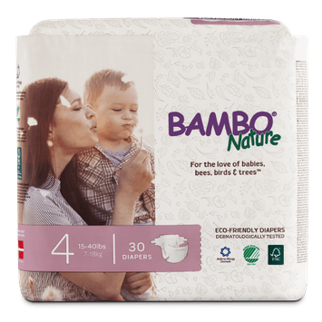 Bambo Nature Eco-Friendly Diapers Size 4