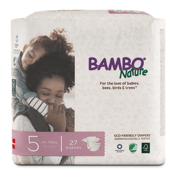 Bambo Nature Eco-Friendly Diapers Size 5