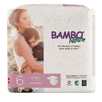 Bambo Nature Eco-Friendly Diapers Size 6