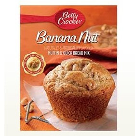 Betty Crocker™ Banana Nut Muffin Mixes