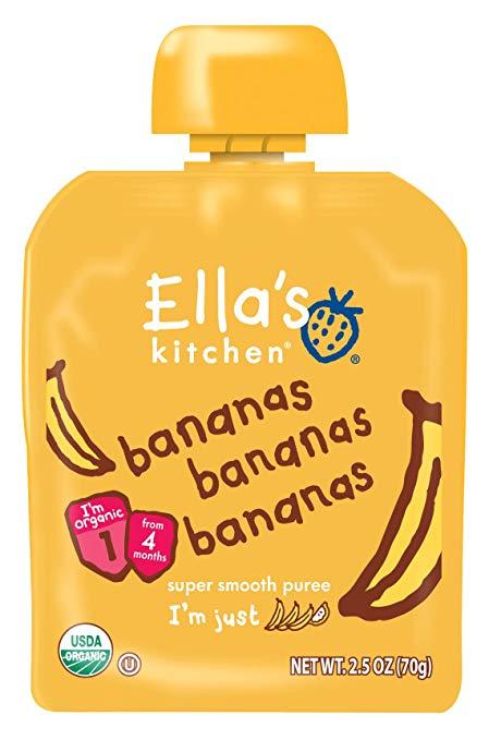 Ella's Kitchen® Organic bananas bananas bananas super smooth puree
