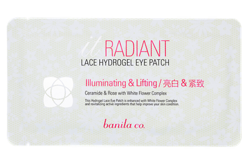 Banila Co. It Radiant Lace Hydrogel Eye Patch - Lifting
