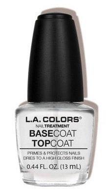 L.A. Colors Base Coat/Top Coat Treatment Reviews 2019