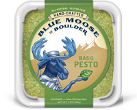 Blue Moose of Boulder Basil Pesto