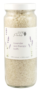 100% Pure Lavender Sea Therapy Bath