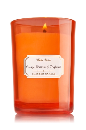 Bath & Body Works Orange Blossom & Driftwood Candle