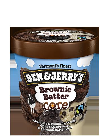 Ben & Jerry's® Brownie Batter Core Ice Cream