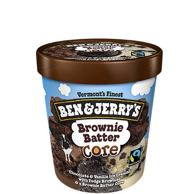 Ben & Jerry's® Brownie Batter Core Ice Cream