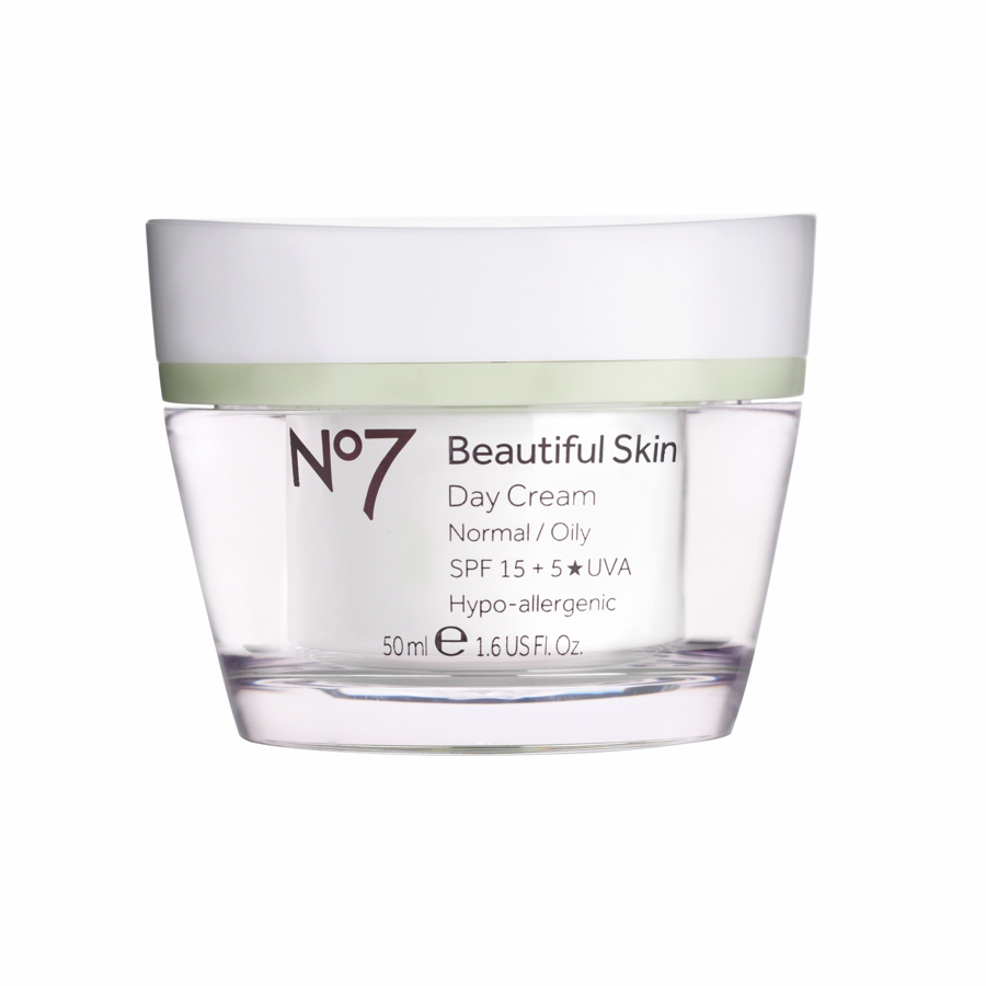 No7 Beautiful Skin Day Cream Normal/Oily
