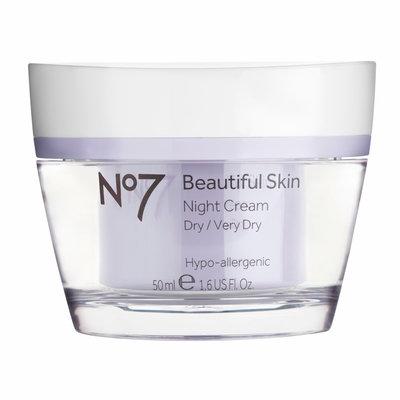 No7 Beautiful Skin Night Cream Dry/Very Dry