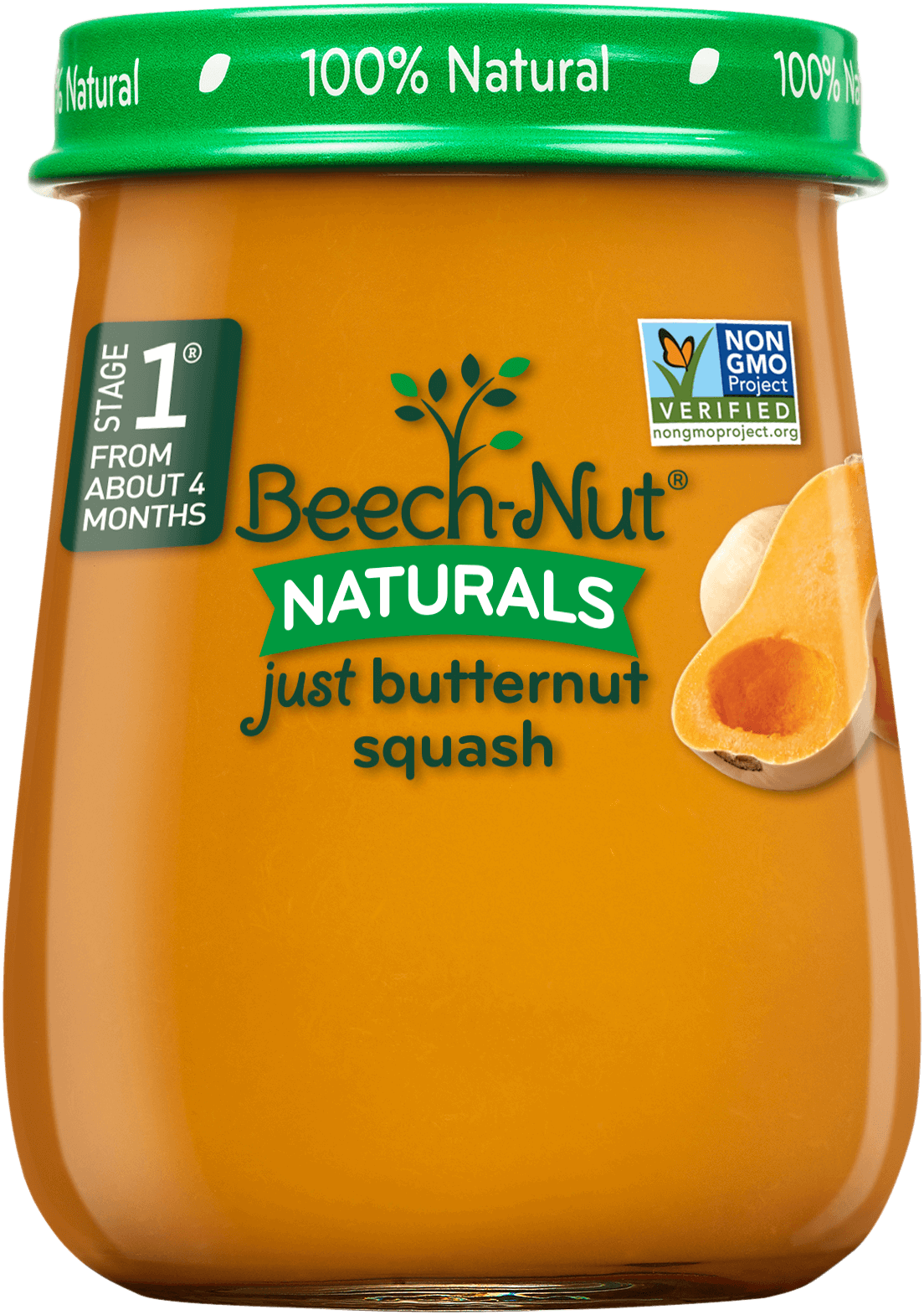 Beech-Nut naturals just butternut squash jar