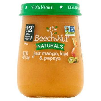 Beech-Nut naturals just mango, kiwi & papaya jar