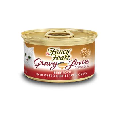 Fancy Feast® Gravy Lovers™ Beef Wet Cat Food In A Roasted Beef Flavor Gravy