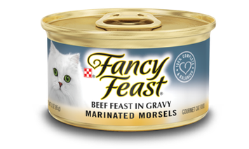 Fancy Feast® Marinated Morsels Beef Gourmet Wet Cat Food In Gravy