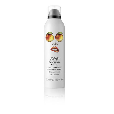 Being By Sanctuary Chili Mango & Tonka Bean Shower Burst