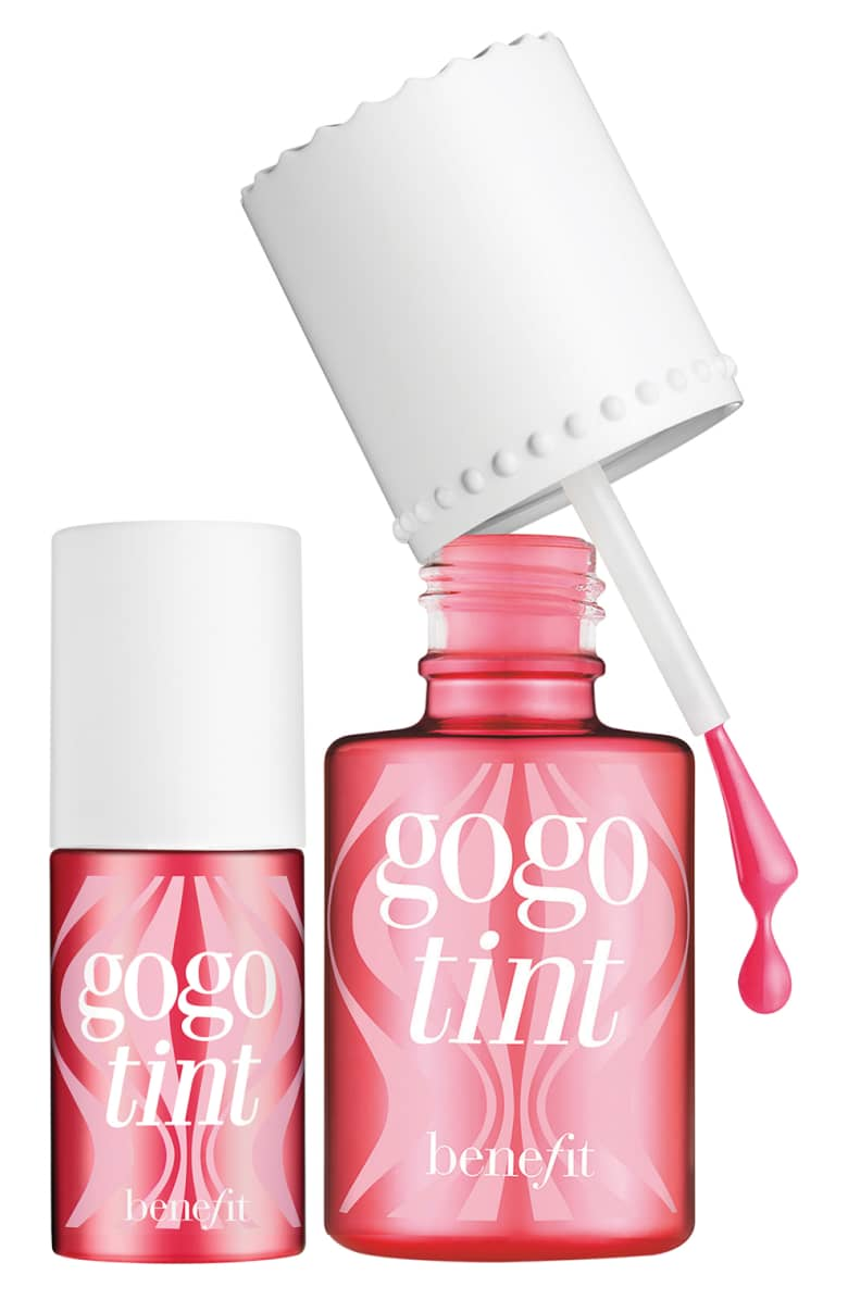 Benefit 2 to Gogo! Bright Cherry Tinted Lip & Cheek Stain Duo