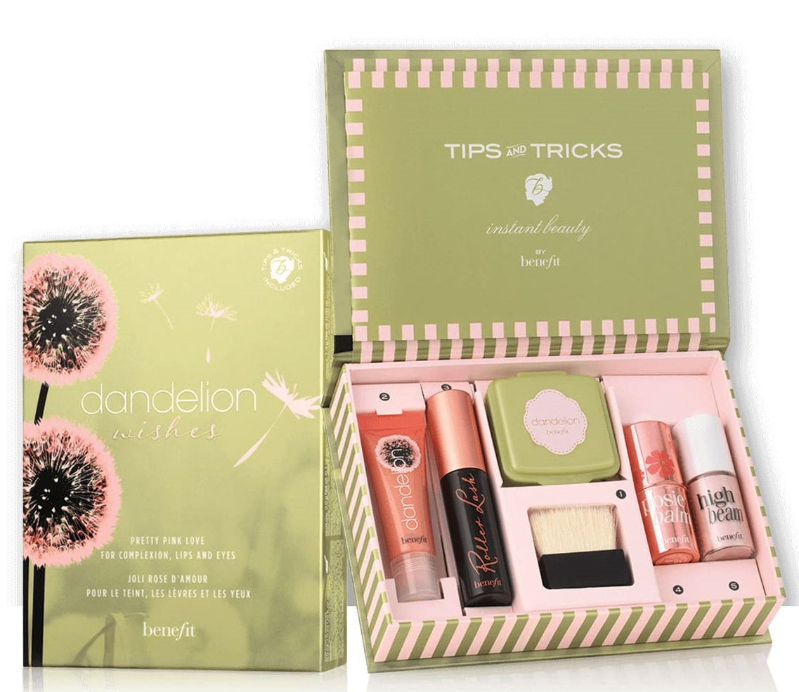 Benefit Cosmetics Dandelion Wishes Makeup Set