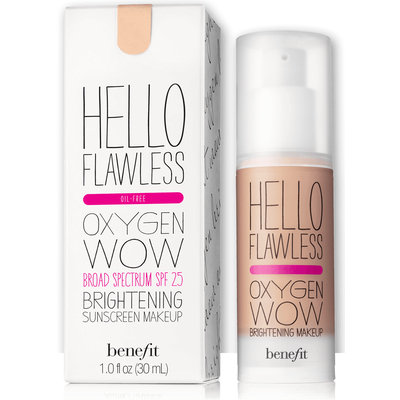 benefit hello flawless oxygen wow makeup review