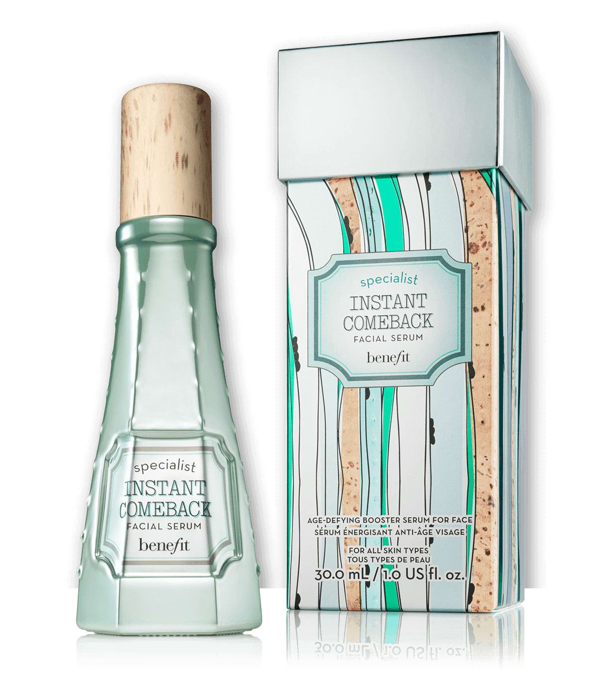 Benefit Cosmetics Instant Comeback Facial Serum