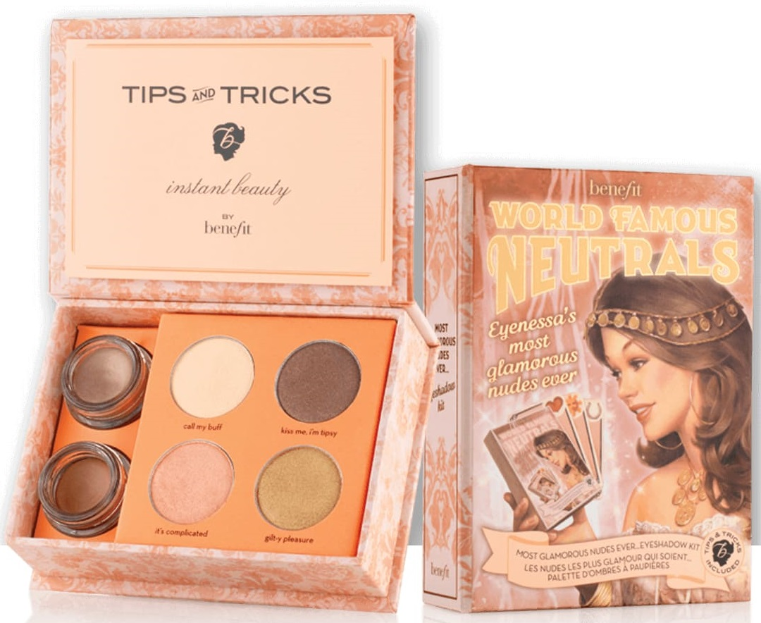 Benefit Cosmetics Most Glamorous Nudes Ever
