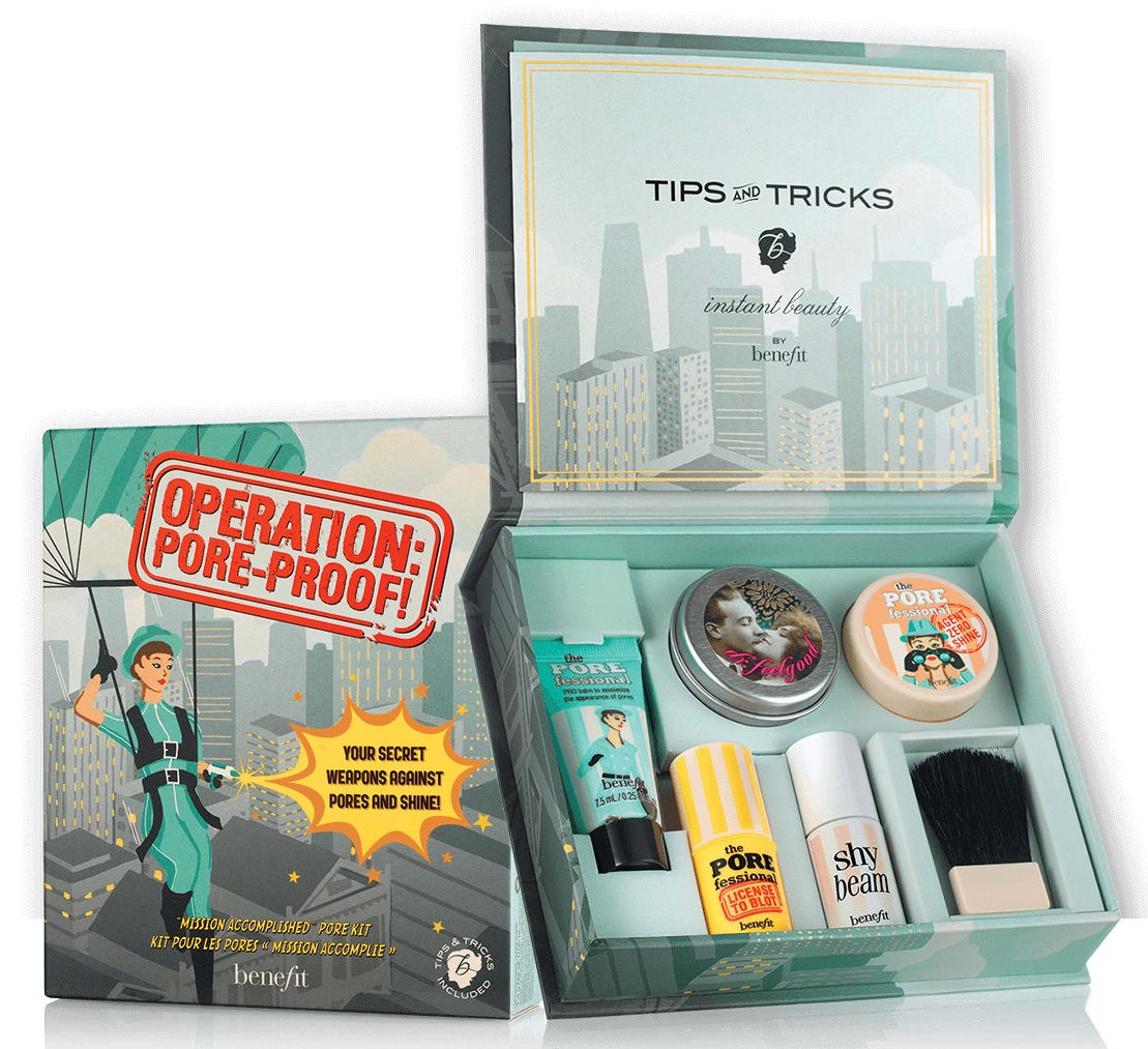 Benefit Cosmetics Operation Pore Proof Kit