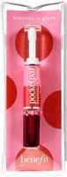 Benefit Cosmetics Pocket Pal Lip Cheek Stain & Clear Gloss