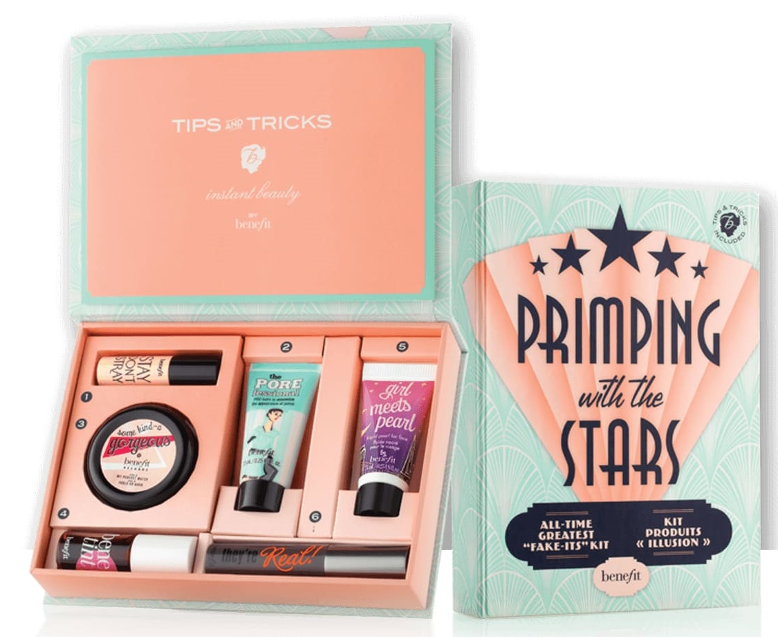 Benefit Cosmetics Primping with the Stars