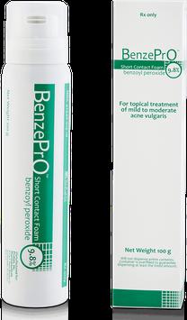 PruGen Pharmaceuticals BenzePrO Short Contact Foam 9.8%