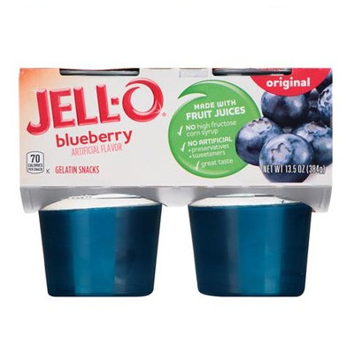 JELL-O Blueberry Gelatin Snacks