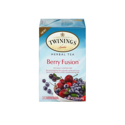 TWININGS® OF London Berry Fusion Herbal Tea Bag