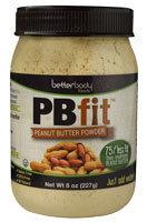 Better Body Foods PB Fit Peanut Butter Powder 8 oz