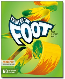 Fruit By The Foot Color By The Foot